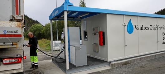 Mobilt tankanlegg