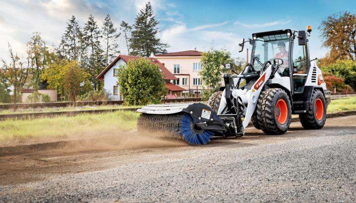HJULLASTER: Bobcat lanserer to modeller på 4,5 og 4,8 tonn.