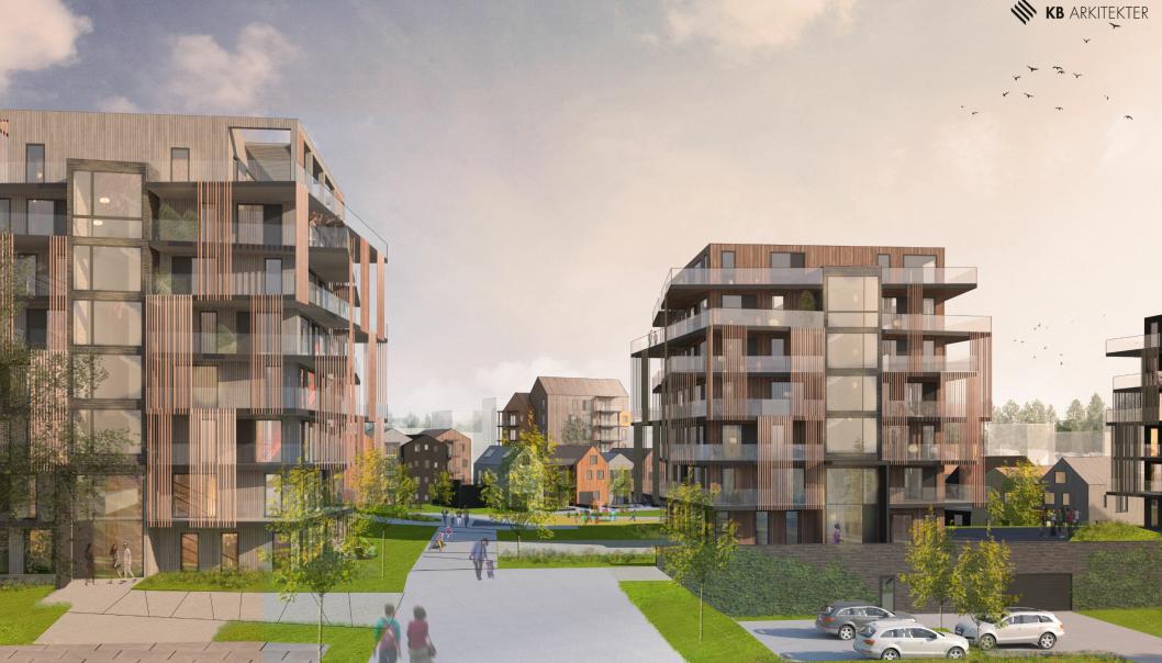 Sandefjord Hageby får beliggenhet i landlige og naturskjønne omgivelser, og er samtidig sentrumsnært. Her planlegger Peab Eiendomsutvikling morgendagens boliger – og fremtidens by - ved å spille på lag med naturen.