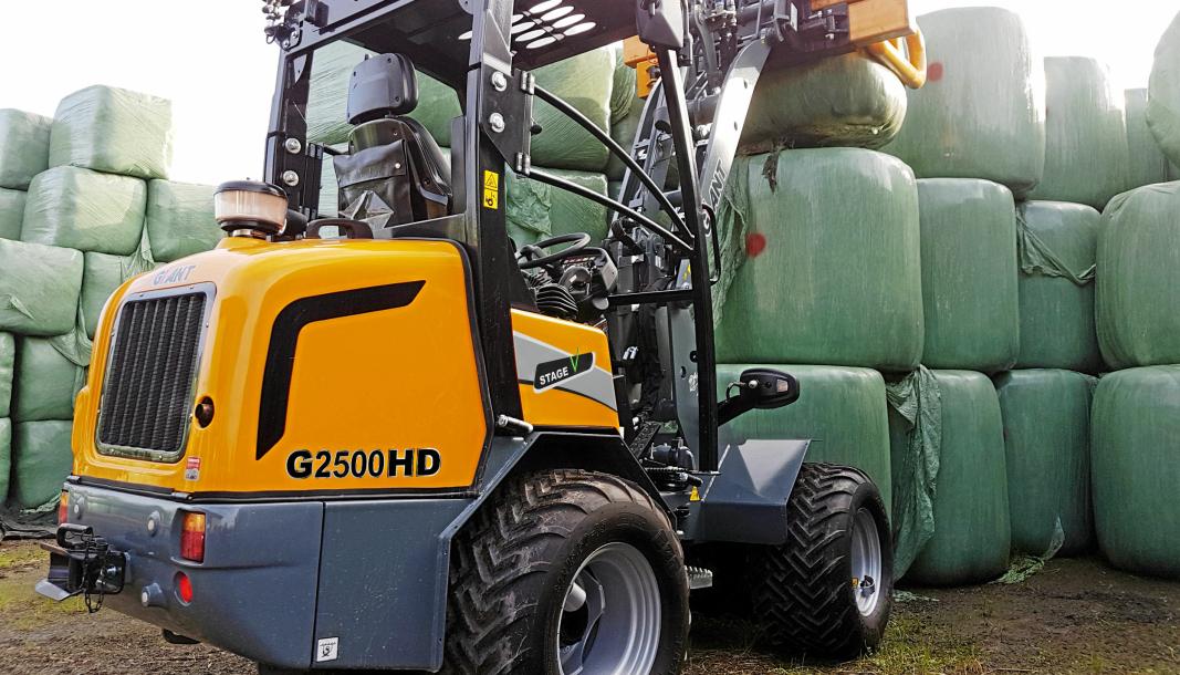 Hymax AS har skrevet avtale med Akershus Traktor for å øke salget av Giant-maskinene til landbruksmarkedet.