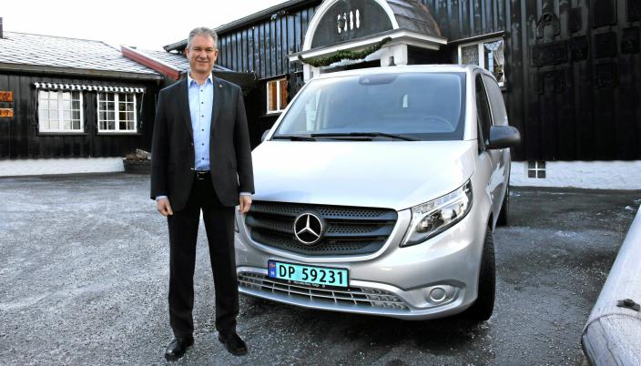 Per Ragnar Johansen blir ansvarlig for Mercedes-Benz varebil. Arkivbilde.