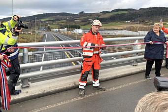Norges lengste sammenhengende veiutbygging åpnet