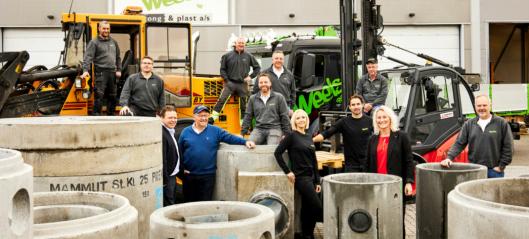Ahlsell Norge AS har kjøp Weels Betong & Plast AS