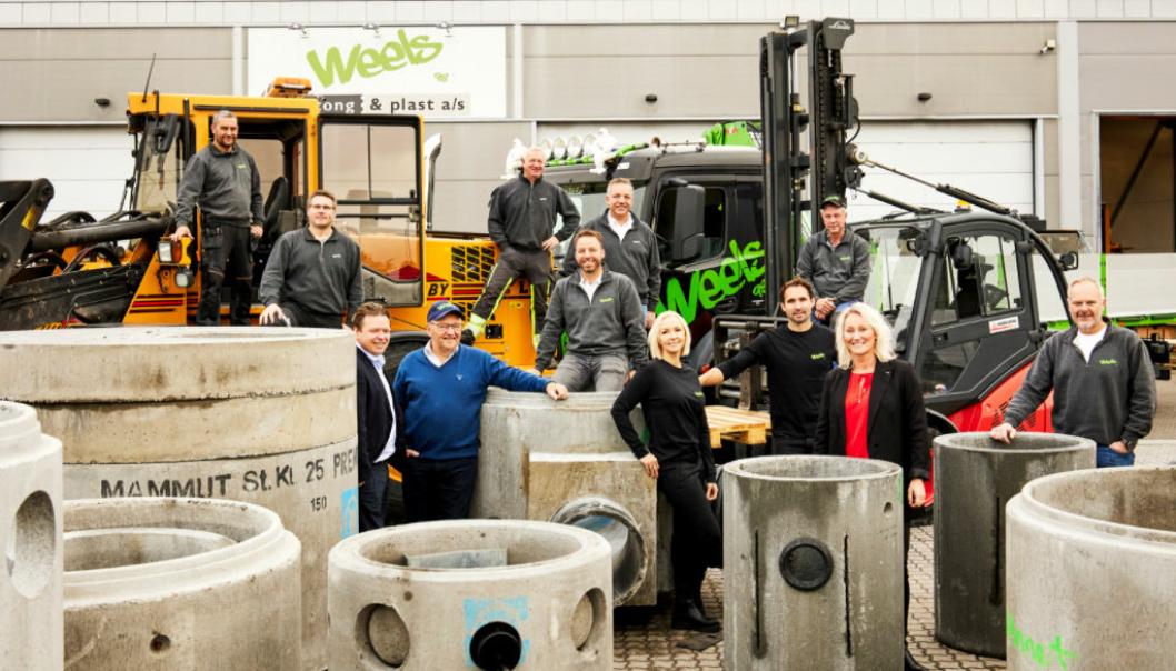 Weels Betong & Plast ble grunnlagt i 1998 og er lokalisert i Råde.