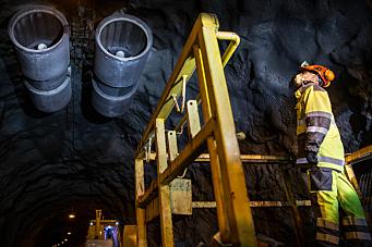 E16 Lunnertunnelen stenger i 3 mnd fra 7. desember