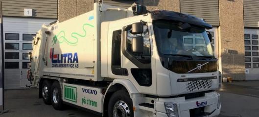 Leverer elektrisk renovasjonsbil til Litra