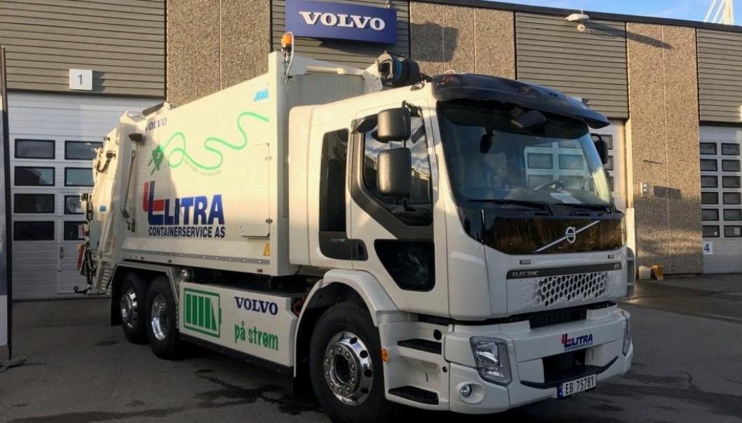 Volvo FE Electric til Litra.