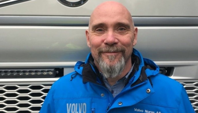 Kjetil Bergflødt, produktsjef i Volvo Norge.