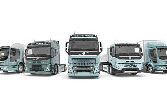 Volvo Trucks lanserer et komplett elektrisk utvalg