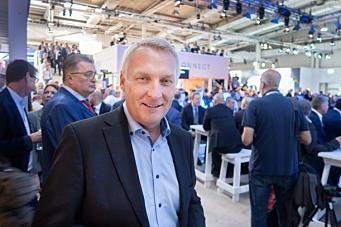 Arne Knaben er ny adm. direktør i Volvo Maskin AS