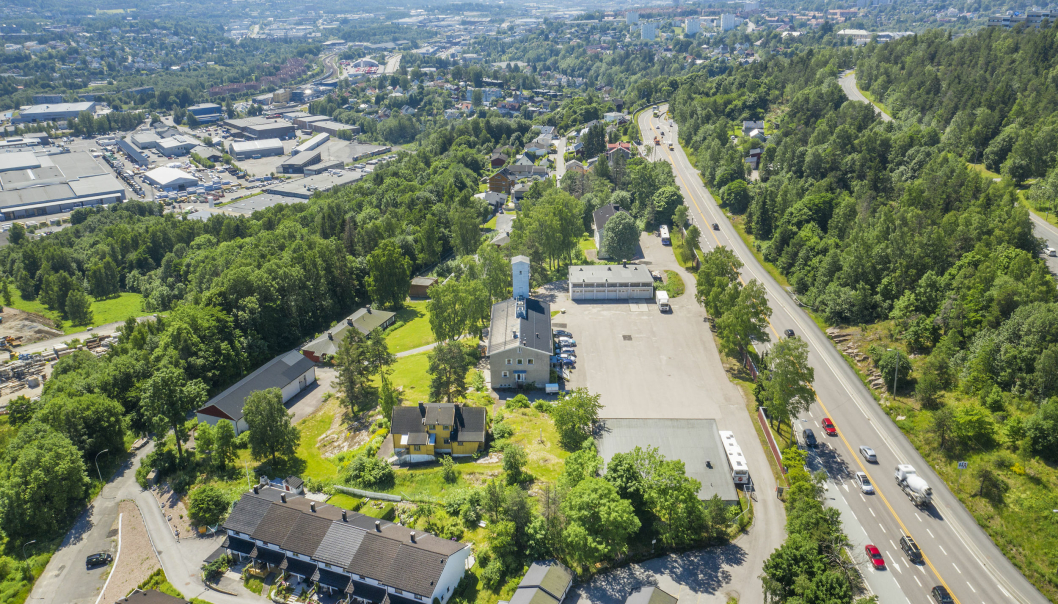 BORI Utbygging og AF Eiendom planlegger boliger på denne tomten. Den har nærhet til Lillomarka og utsikt over Groruddalen.
