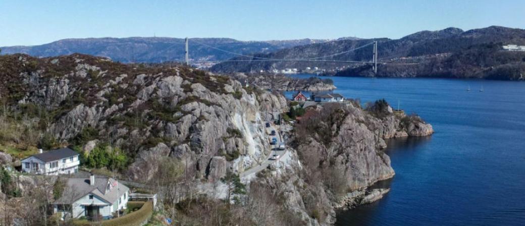 Contexo jobbet blant annet på fv. 213 Skiftesvik-Marikoven for Vestland fylkeskommune da konkursen var et faktum for noen dager siden.