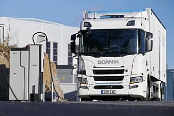 Scania inngår ladesamarbeid