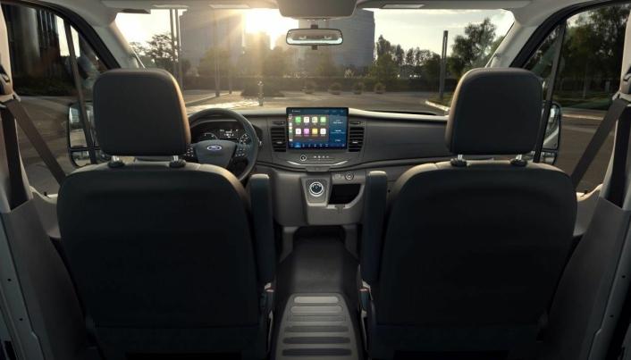 Bilde fra den den nye bilen, amerikansk versjon.