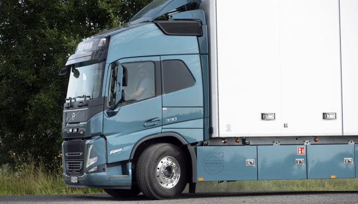 BEDRE SIKT: Volvo FM og FMX har blitt helt ny og fått mye fra storebror FH