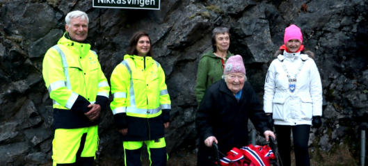 Nikoline (103) arbeidet på anlegget da Trollstigen ble bygget - hedret med svingnavn