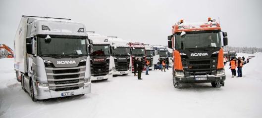 Scania Winter utsettes