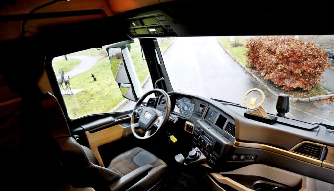 Det nye hyttedesignet gjør at hverdagen til lastebilsjåfører bedres. Spesielt for de som bor i hytta oppleves endringene som meget store.
