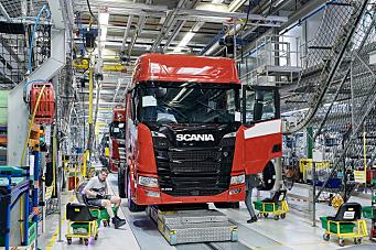 Scania starter med lastebilproduksjon i Kina