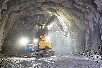 Tunnelstatistikken 2020 – uttaket svakt opp
