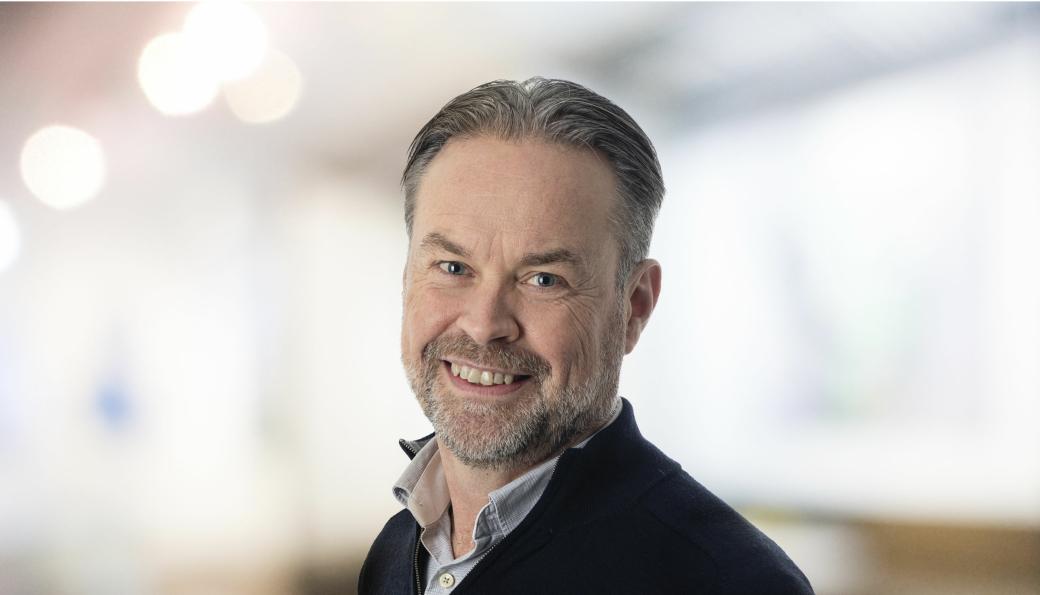 Håvard Johansen er ny leder for Hercules Fundamentering fra nyttår.