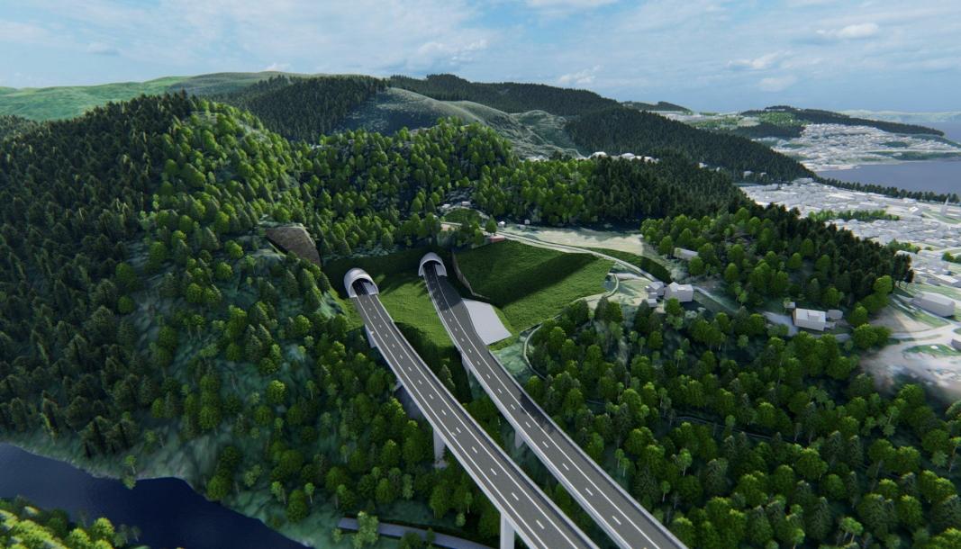 STORT PROSJEKT: Hele prosjektet E6 Ranheim-Værnes er kontraktfestet til 5,2 milliarder kroner.