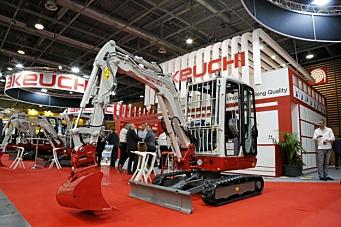 EMSG Norge blir importør for Takeuchi anleggsmaskiner