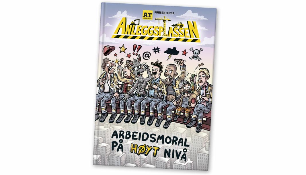 Denne nye boka er nå til salgs.