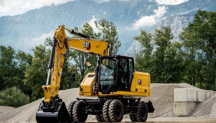 Cat M316 er den eneste som ikke kan leveres ennå, men maskinen blir klar i 2021, med optimalisert teknologi.