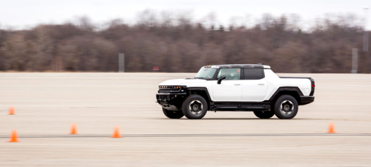 GM tester elektrisk drevet GMC Hummer