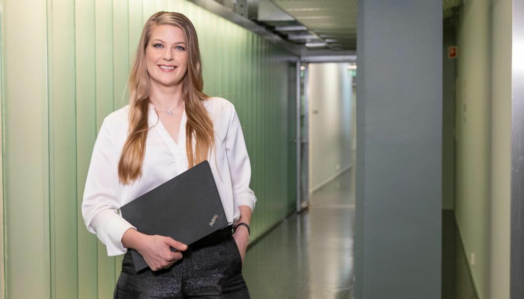 ØKT KAPASITET: PostNords netthandelsekspert Victoria Rummelhoff kan fortelle om en markant økning i sorterings- og pakkekapasitet i 2020.