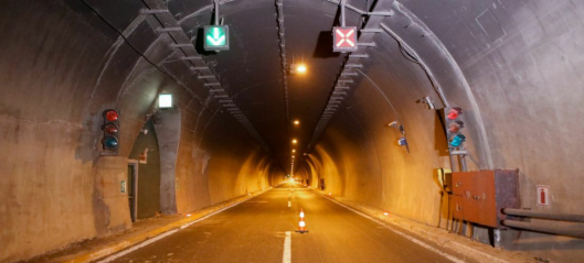 Sender roboter for å inspisere tunneler