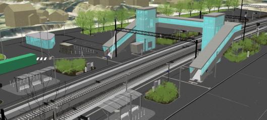 Oppgraderer Nittedal stasjon