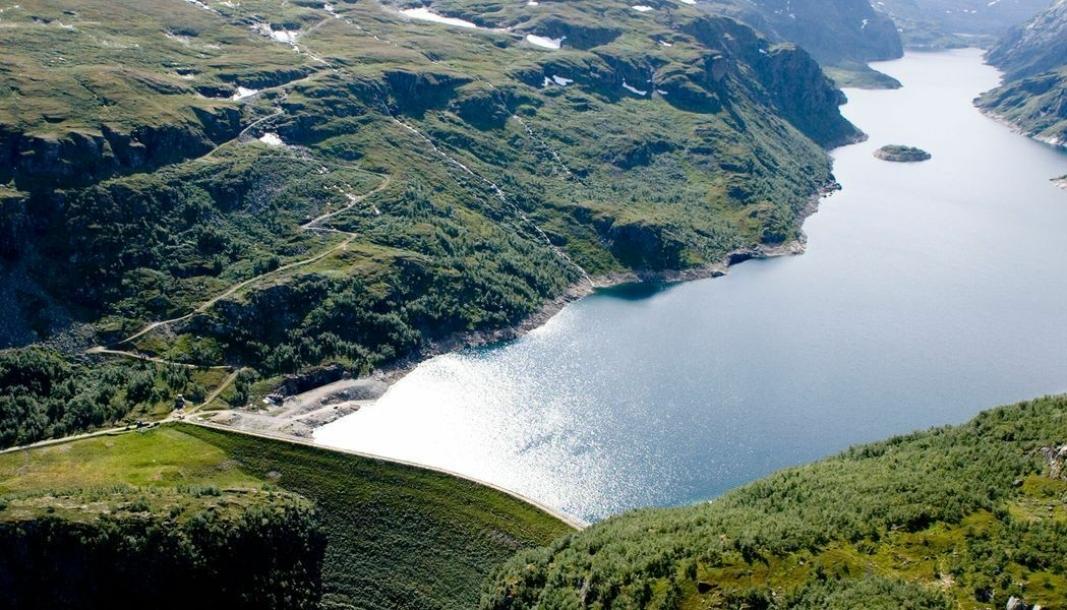 Dam Viddalsvatn ligger i Låvisdalen i Aurland kommune og ble bygget i 1970-71.