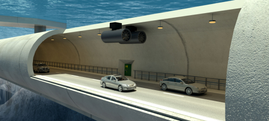 Fremtidens fjordkryssing med bil