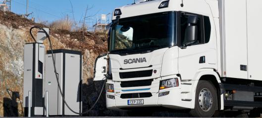 - Kun fossilfrie lastebiler i salg fra 2040