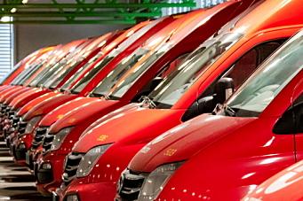 Norges største leveranse av el-varebiler