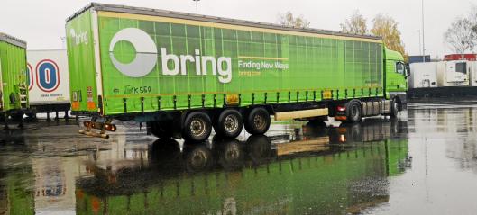 Posten går ut av bildriften i Bring Trucking