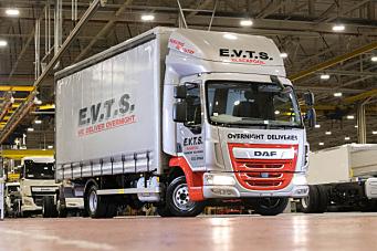 Leyland Trucks bygget sin DAF LF nummer 200.000