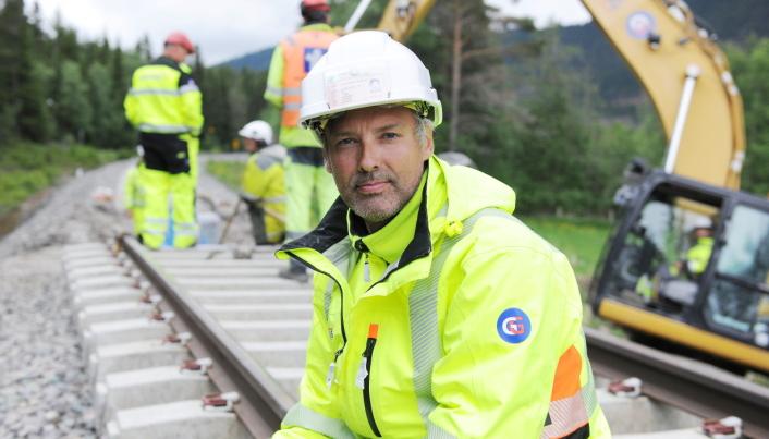 Daglig leder Pål Ligård i Steer AS. Foto: Steer