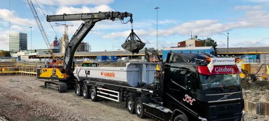 1600 færre lastebillass med Volvo-tjeneste