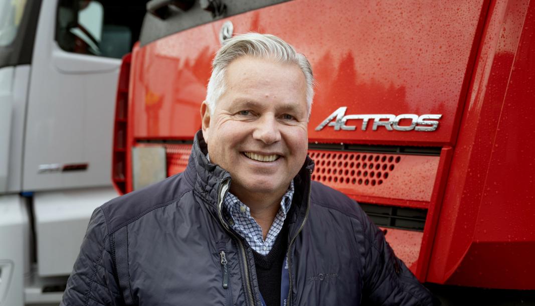 Jarle Viuls er ny sjef og adm dir for lastebil og buss i Bertel O. Steen.