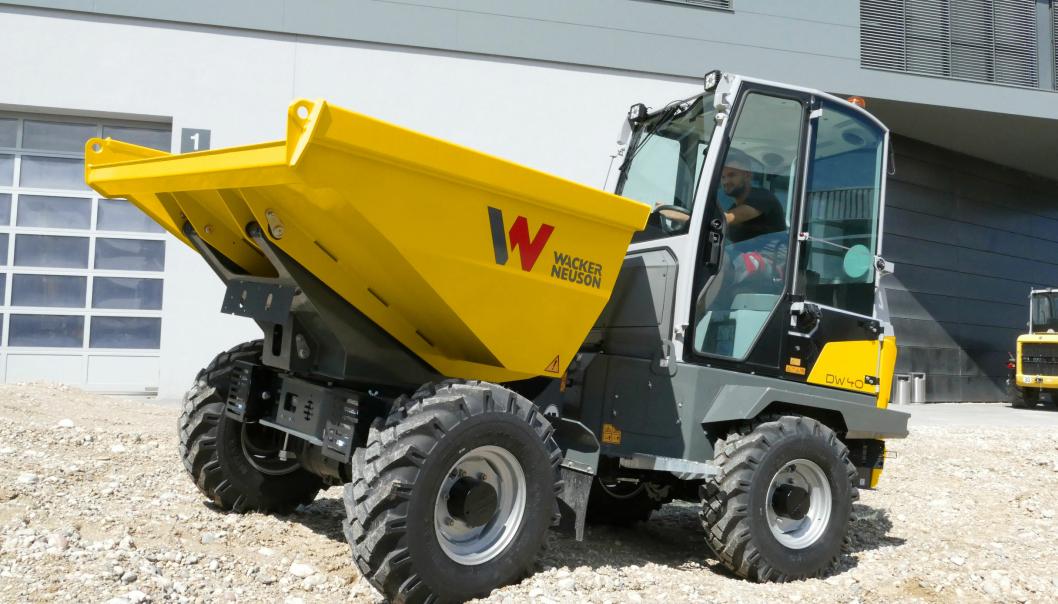 Nye Wacker Neuson DW40.