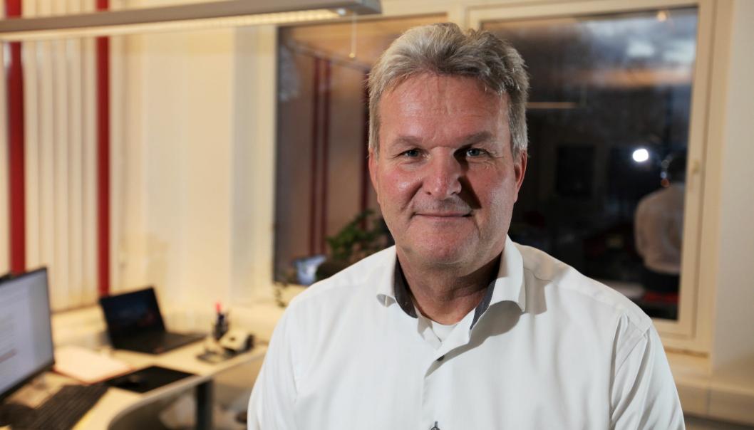 Gunnar Moe, adm. direktør i Rana Gruber AS, er veldig godt fornøyd med nedsalget som ble overtegnet mange ganger ifølge selskapet.
