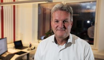 Gunnar Moe, adm. direktør i Rana Gruber. Foto: Rana Gruber AS