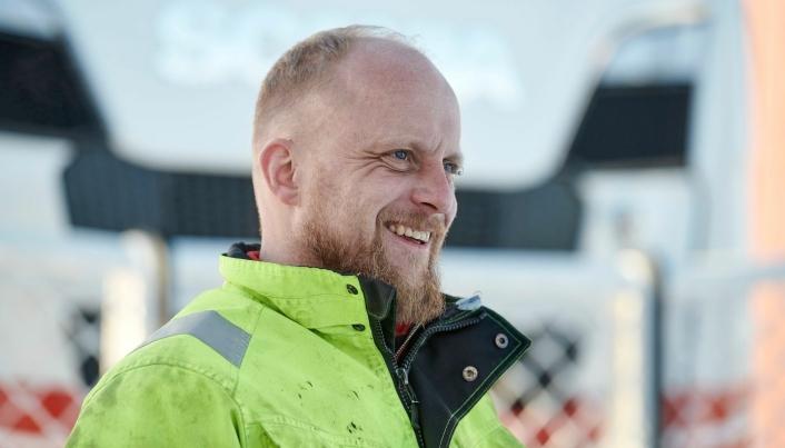 MORO: Rolf Aakvik gikk fra en eldre Scania R620 til det nye flaggskipet med 770 hk.