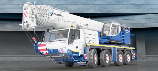 Tadano og Demags nye organisasjon i Norge