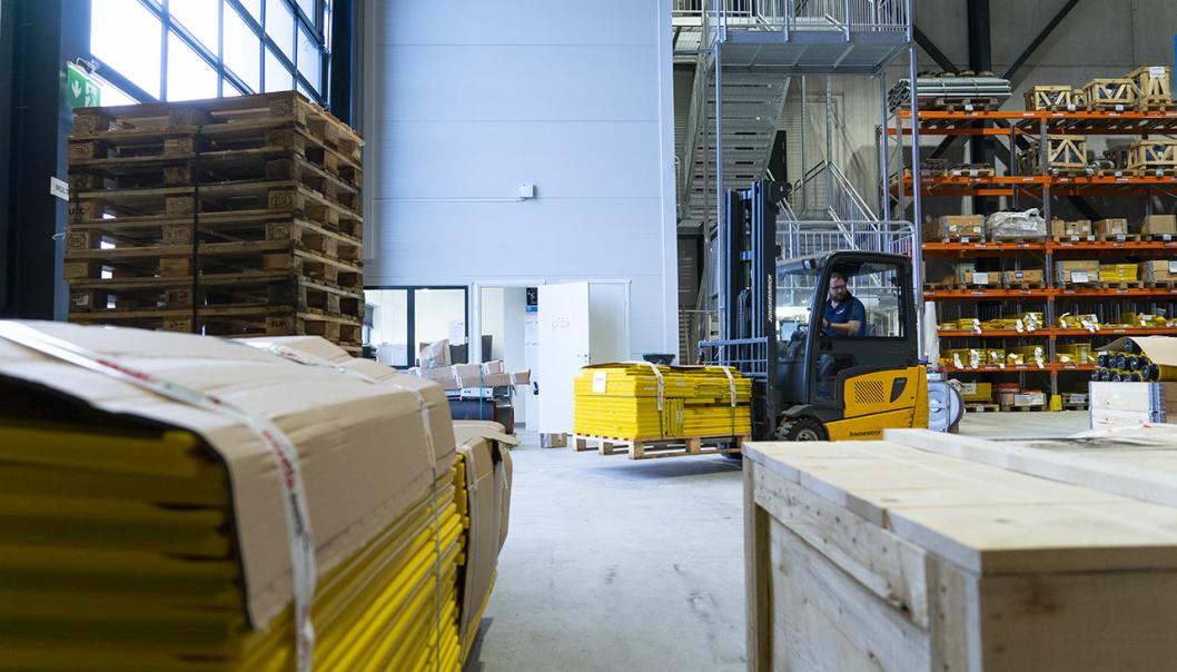 Her lastes årets siste forsendelse fra Nordic Bulk opp, og denne forsendelsen sørget også for ny rekord!