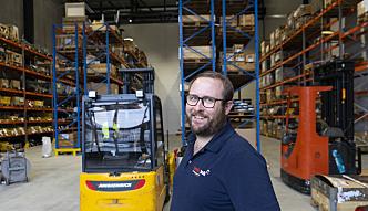Ragnvald Stople, innkjøpssjef i Nordic Bulk,