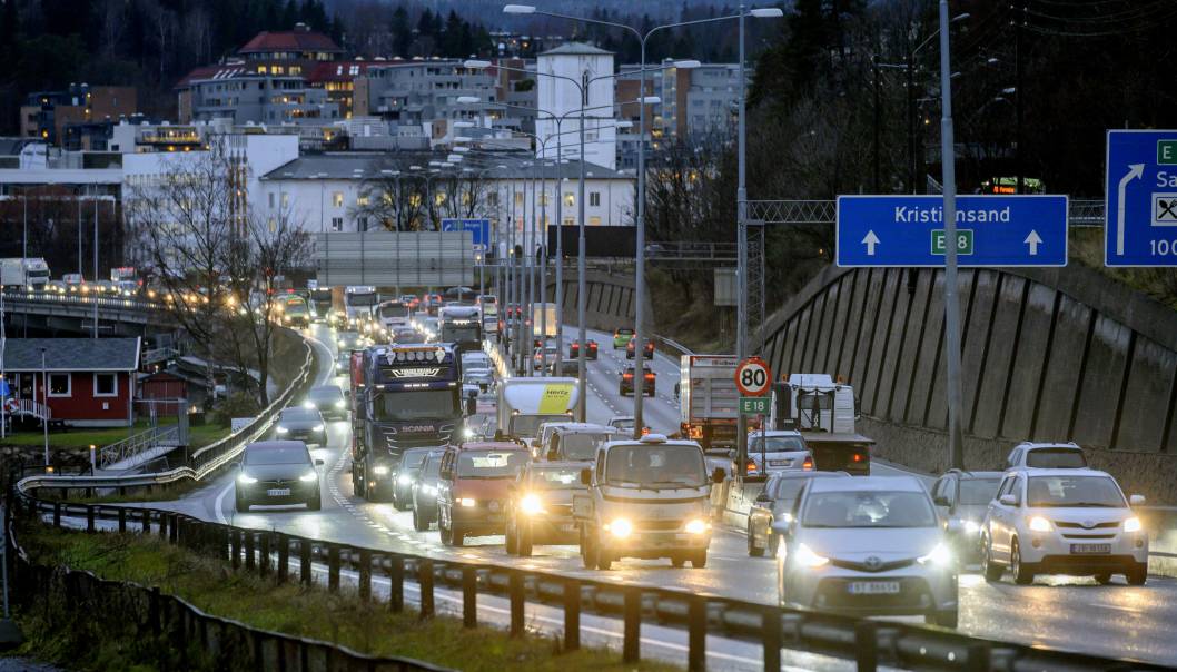 For første gang siden 1947 har færre enn 100 omkommet i trafikken i Norge. Foto: